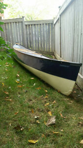 16' Expedition Fiberglass Canoe...used only twice!!