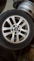 Bmw rims and Michelin winter x ice tires