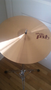 PAISTE PST 7 AND PSTX CYMBALS FOR SALE