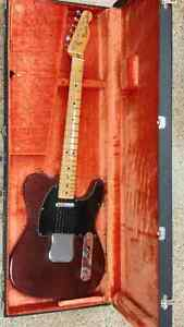 1977 Fender Telecaster with case
