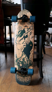 "Complete 38"" longboard Barely Used"
