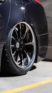 "*Like New* 19"" Genuine Weds 710S With Tires & TPMS - $2300"