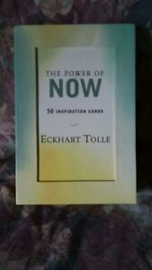 The power of now meditation cards