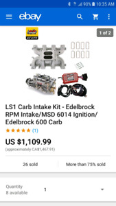 Ls Carb | Kijiji in Ontario  - Buy, Sell & Save with