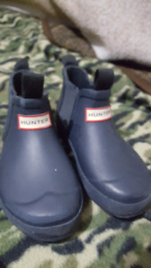 Hunter boots baby size 8