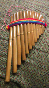 Panflute, panpipes