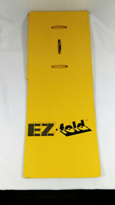 STAFFORD Light Weight EZ-FOLD In Seconds CLOTHES FOLDING Yellow