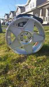 4 brand new alloy wheels