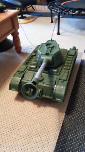 VINTAGE TIGER JO TANK BY READING CO 1961 - WORKS!