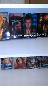 Cassettes de films VHS + video cassettes inclus