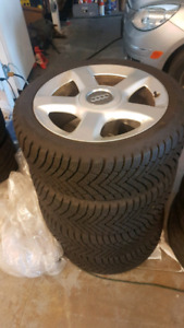 Audi A3 WINTER WHEELS AND TIRES 225/45R17