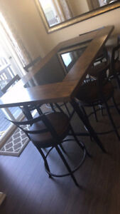 7-Piece Counter-Height Dining Package