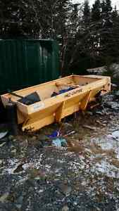 pollycaster salt spreader for parts or repair for sale
