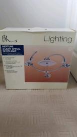 Neptune 3 light Spiral Spotlight (BRAND NEW)