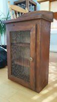 Solid Wood Wall Cabinet / Vanity with Door (Mint Condition)