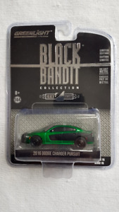 1:64 GREEN MACHINE GreenLight DODGE CHARGER PURSUIT #0026