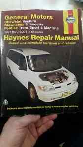HAYNES REPAIR MANUALS (x4)