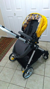 Great stroller/travel system with carseat