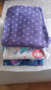 3 pair of pj's for girl size 8