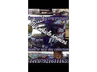 SCRAP CARS & VANS COLLECTED