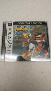PS1 Crash Bandicoot Warped PlayStation