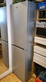 BEKO - CSG1582S 60/40 Fridge Freezer - Silver - Tall - Frost free