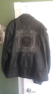 3xl Harley leather bike jacket