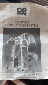 3 stage exercise and weight training gym