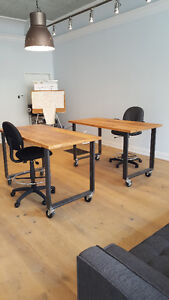 Cool, Loft Style Office Space in Trendy Dundas West Art District