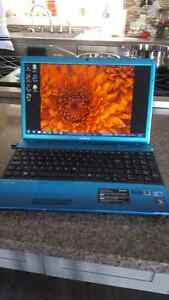 Sony Vaio Laptop Limited Edition Blue