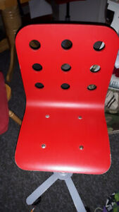IKEA JULES Child's desk chair, RED