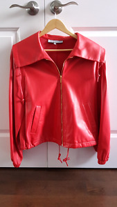 Brand new genuine leather ladies jacket size L