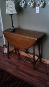 Antique Dropbox Leaf Table - best offer