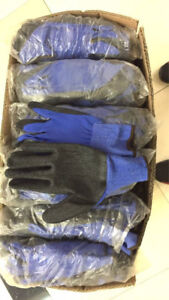 Industrial Safety gloves on sale - Nitrile, Latex, Cow split, PU