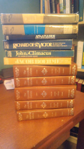 Apostolic Fathers set plus other writings of church fathers