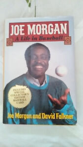 "BOOK BY JOE MORGAN ""A LIFE IN BASEBALL"" FIRST EDITION"