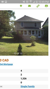 4 bedroom 2 bathroom house for sale in Iroquois Falls