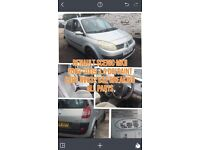 RENAULT MEGANE SCENIC 2003-2009 SILVER 1.5 DCI PARTS SPARES BOOT BONNET INTERIOR ENGINE GEARBOX