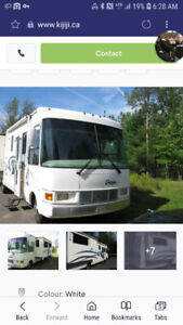 2001 Ford Dolphin F10 34 ft. Motorhome