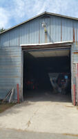 Warehouse in Hillsburgh Available