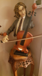 For sale set of two sculptures of musicians