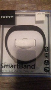 Sony Smartband (for jogging step counting etc)