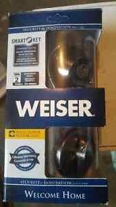 WEISER Welcome Home Smartkey Deadbolt BNIB