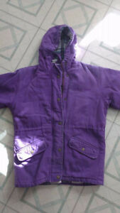 Girls Northern Getaway Heavy Coat (Size Small)