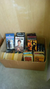 BOOKS,VHS TAPES at garage sale June 9-20 4240 46A AVE CR.