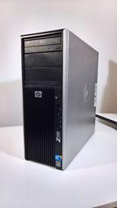 HP Z400 Xeon W3520   GeForce GTX 260   12 GB RAM   500 GB HDD