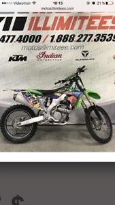 Motocross kxf 250 2013