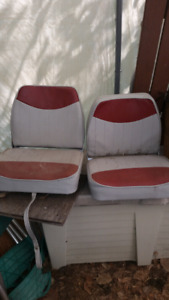 2 boat seats in good condition