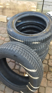 Michelin X-ice 215/60r17 like new! Used them ONE WINTER only.