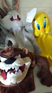 warner brothers looney tunes hand puppets